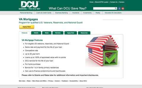 VA Mortgage Loan | DCU | Massachusetts | New Hampshire