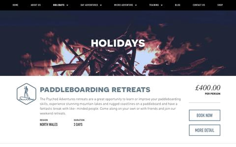 Holidays — Psyched Adventures