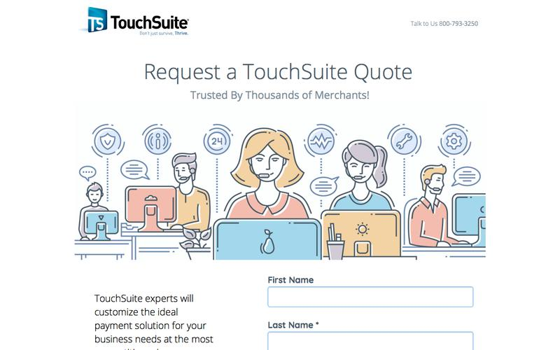 TouchSuite | Request a Quote