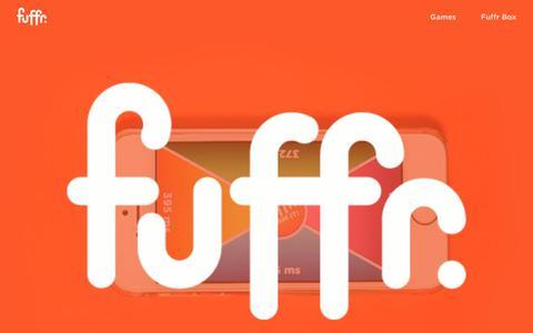 Screenshot of Jobs Page fuffr.com - Fuffr - captured Oct. 15, 2019