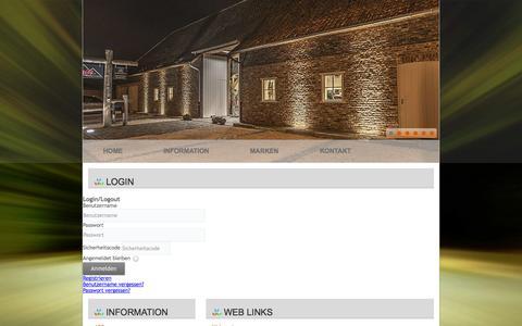 Screenshot of Login Page hlberatung.de - LogIn - captured Sept. 26, 2014