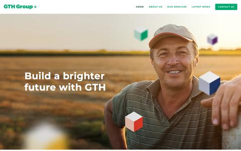 Screenshot of Home Page gthgroup.com.au - GTH Group - captured Sept. 26, 2018