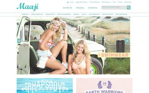 Screenshot of Privacy Page maajiswimwear.com - Maaji Swimwear Official Site | Swimsuits and Beach Accessories - captured Dec. 20, 2015