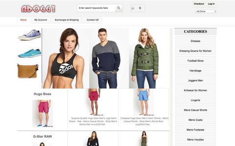 Screenshot of Home Page aboggt.com - Womens Dresses & Knitwear 2017 - Cheap Handbags For Mens - captured Nov. 19, 2016