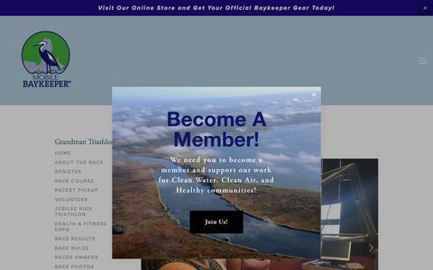 Screenshot of Press Page mobilebaykeeper.org - Media — Mobile Baykeeper - captured Sept. 21, 2018