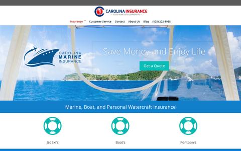 Boat & Personal Watercraft Insurance - Carolina Insurance