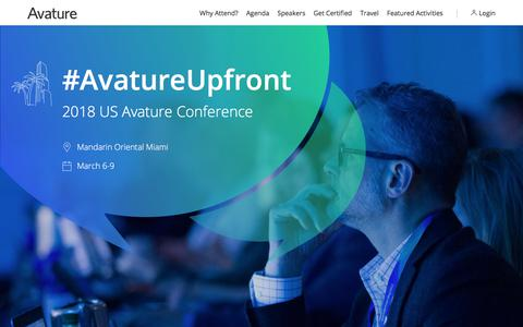 2018 US Avature Conference
