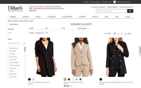 Women's Jackets | Dillards
