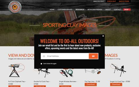 Sporting Clay Images | Do All Outdoors