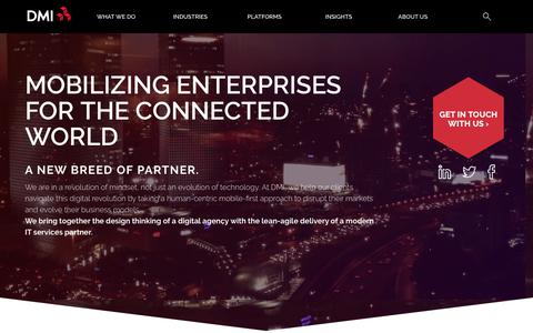 DMI - The First Integrated, End-to-End Mobility Company