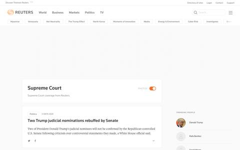 Supreme Court | Reuters.com