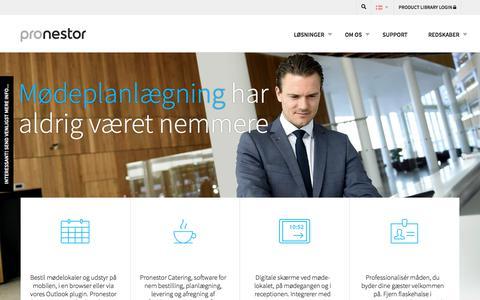Pronestor - Effektiv mødeplanlægning til virksomheder