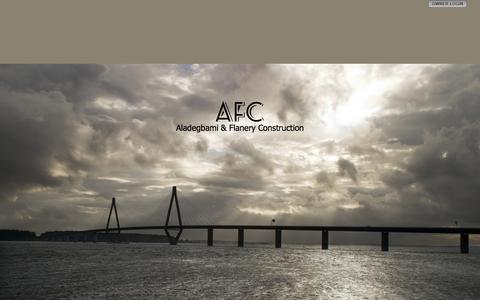Screenshot of Home Page afcng.com - AFC - captured Oct. 4, 2014