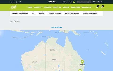 Screenshot of Locations Page ghpa.com.au - Locations - captured Sept. 5, 2017