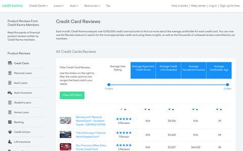 Credit Card Reviews | Credit Karma