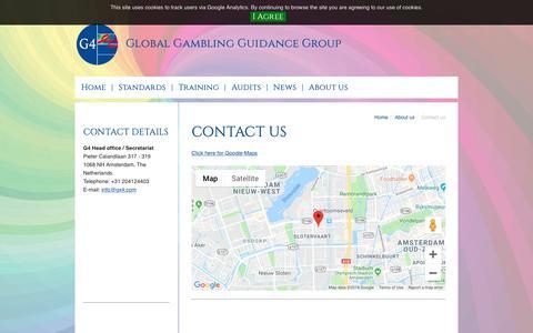 Screenshot of Contact Page gx4.com - Contact - GX4 - captured Sept. 28, 2018