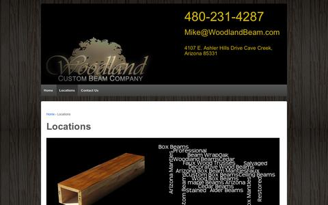 Screenshot of Locations Page boxbeam.co - Locations | BoxBeam.co - captured Oct. 5, 2014