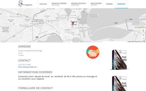 Screenshot of Contact Page gco-web.com - Global Communication Organisation | Contact | Global Communication Organisation - captured Nov. 7, 2016