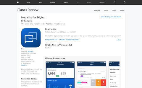 Medallia for Digital on the App Store