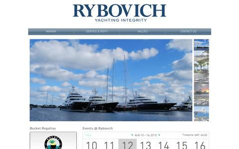Screenshot of Home Page rybovich.com - Rybovich - captured Aug. 12, 2015