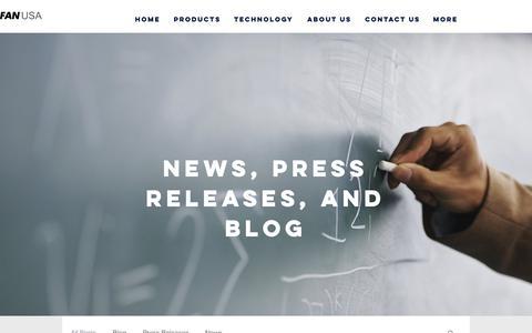 Screenshot of Blog cofan-pcb.com - COFAN PCB | Blog, Press Releases, and News - captured Nov. 9, 2018