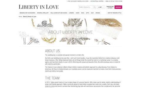 Screenshot of About Page libertyinlove.co.uk - About Liberty in Love - captured Oct. 2, 2014