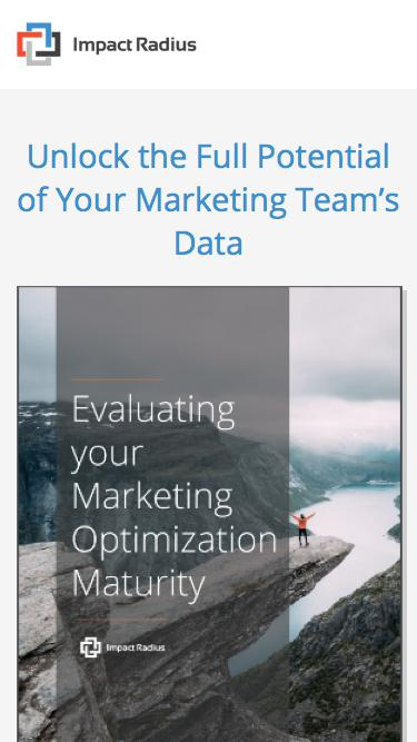 Evaluating Your Marketing Optimization Maturity