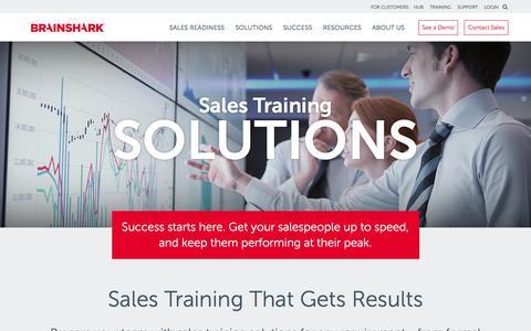 Sales Training Solutions | Brainshark