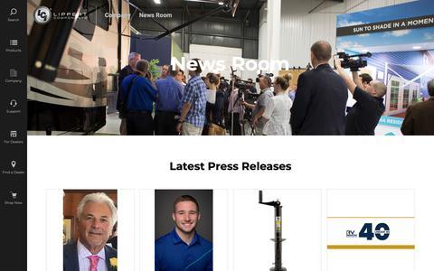 Screenshot of Press Page lci1.com - Press Releases | LCI1.com - captured May 24, 2019