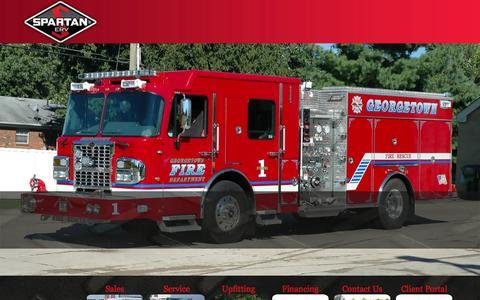 Screenshot of Home Page 911fleet.com - 911 Fleet - captured Oct. 7, 2014