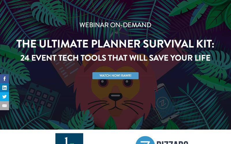 Webinar: 24 Event Tech Tools Use Need to Be Using