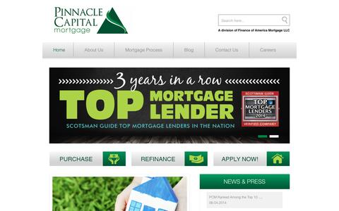 Home - Pinnacle Capital Mortgage