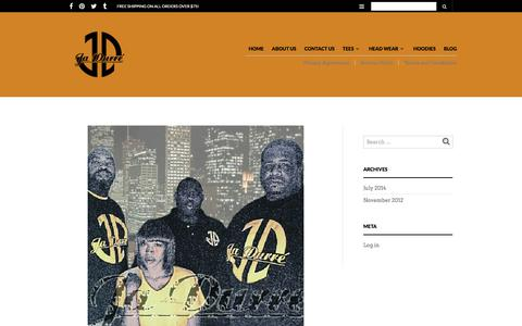 Screenshot of Blog jadurre.com - Blog – Ja Durre' Fashions - captured Sept. 20, 2018