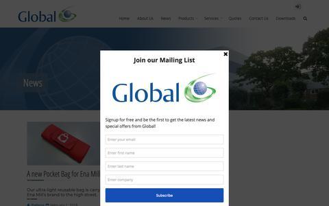 Screenshot of Press Page gtuk.co.uk - News – Global - captured Sept. 29, 2018
