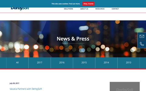 News and Press Archives - DerbySoft
