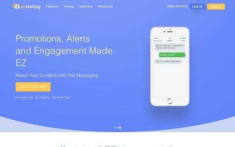 SMS Marketing, Text Message Marketing & Mass Texting