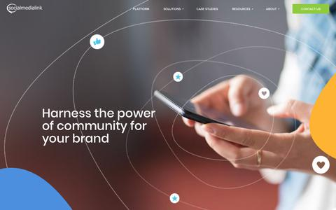 Social Media Link - leading consumer engagement and activation company