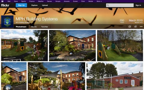 Screenshot of Flickr Page flickr.com - Flickr: MPH Building Systems' Photostream - captured Oct. 26, 2014
