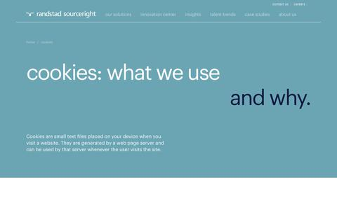 Cookie Policy | Randstad Sourceright