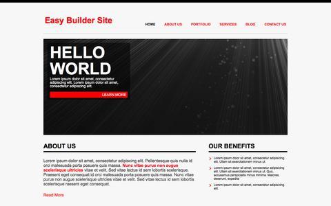 Screenshot of Home Page homecookhero.com.au captured July 15, 2016