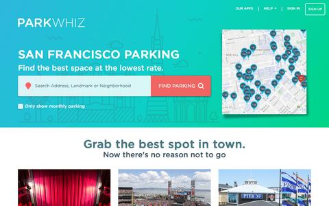 San Francisco Parking - From $12 - Find, Book & Save on SF Parking | Guaranteed Parking - ParkWhiz