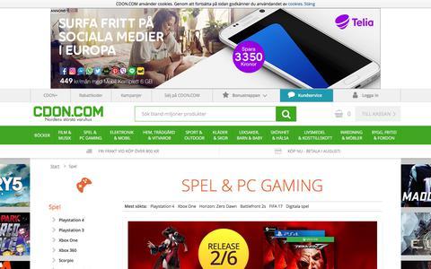 SPEL & PC GAMING - CDON.COM