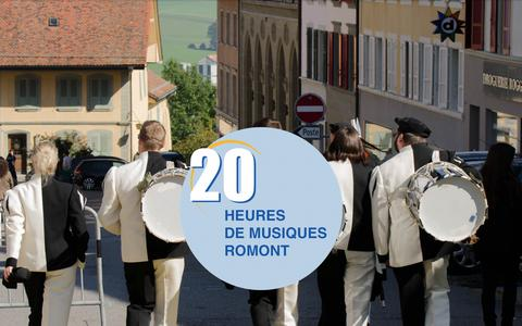 Screenshot of Home Page 20heures.ch - 20 Heures de musiques - Romont - captured Oct. 16, 2015