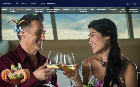 Screenshot of morongocasinoresort.com - Palm Springs Dining Deal | Cielo | Morongo Casino - captured March 20, 2016