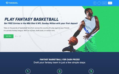 Fantasy Basketball  | FanDuel