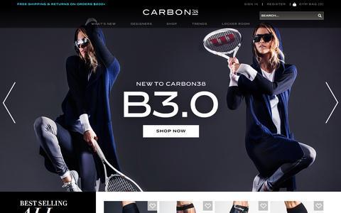 Screenshot of Login Page carbon38.com - Carbon38 - captured Oct. 25, 2015