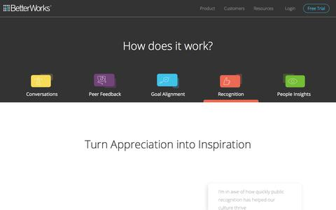 Employee Recognition Tool for Increased Employee Engagement & Development | BetterWorks