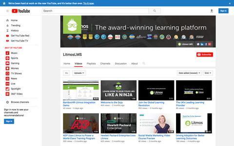 LitmosLMS  - YouTube