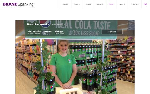 Screenshot of Signup Page brandspanking.co.nz - JOIN   Brand Spanking - captured June 2, 2017