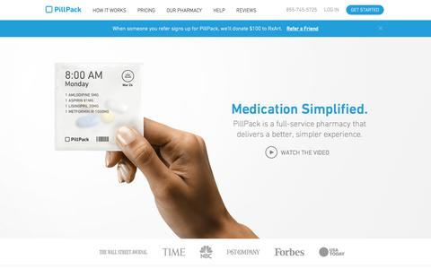 PillPack - Pharmacy Simplified